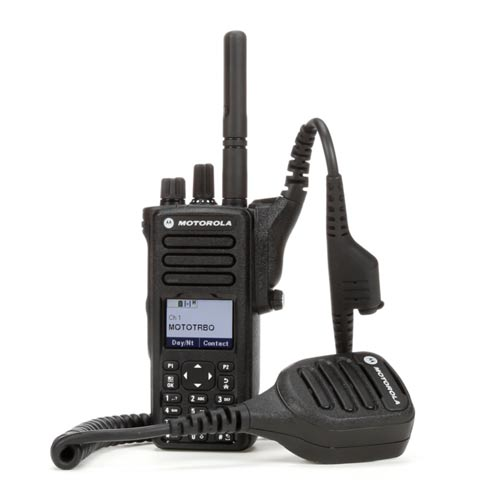 Portable Motorola Digital Walkie Talkie